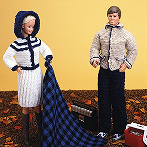 Fashion Doll: His & Hers Fall Outfits Crochet ePatterns