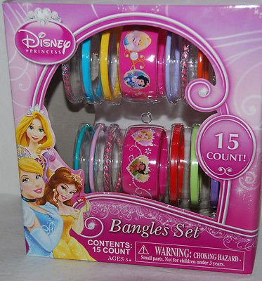 Disney Princess Bangles Set