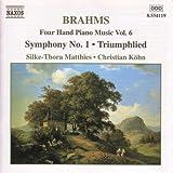 Brahms: Four-Hand Piano Music, Vol. 6