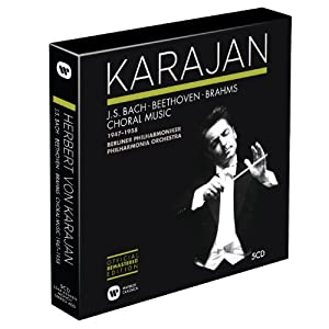 The Karajan Official Remastered Edition - Choral & Vocal recordings Oct 1947 - Sep 1958 from Warner Classics