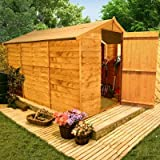 BillyOh 10'x6' Windowless Classic Value Overlap Wooden Garden Shed