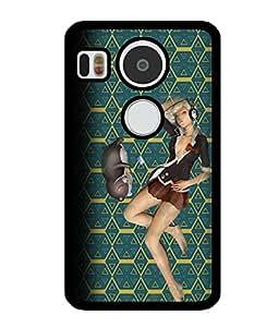 Fuson 2D Printed Girly Designer back case cover for LG Google Nexus 5X - D4601