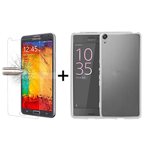 tbocr-pack-clear-tpu-silicone-gel-case-tempered-glass-screen-protector-for-sony-xperia-xa-ultra-f321
