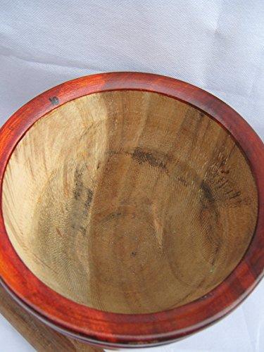THAI Pestle & Mortar 9'' (23 CM) Tamarind Hard Wood *Large Size''