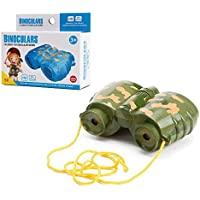 Toyerbee Mini Camouflage Binoculars Toy For Kids Outdoor Exploration Toy (Colors May Vary)