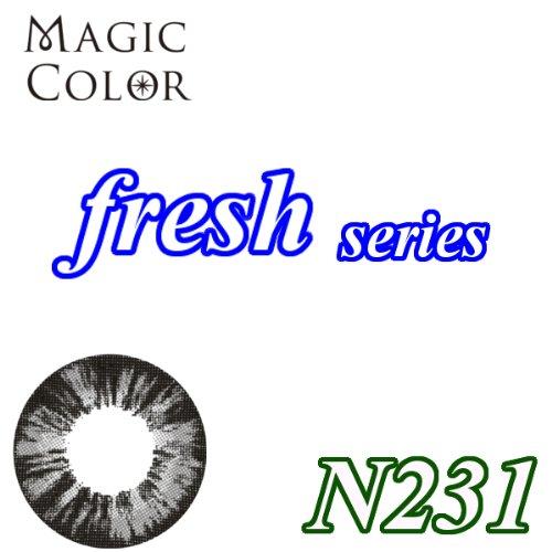 MAGICCOLOR (マジックカラー) fresh N231 度なし 14.5mm 1ヵ月使用 2枚入り