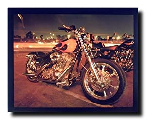 Harley Davidson Classic Motorcycle Home Decor