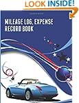 Mileage Log, Expense Record Book