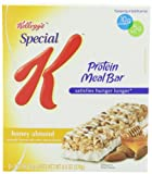 Special K Protein Meal Bar, Honey Almond, 1.59 oz. Bars,  6-Count Box (Pack of 6)