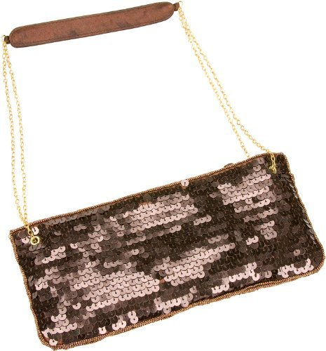 la-regale-sequins-designer-clutch-handbag-purse-color-bronze