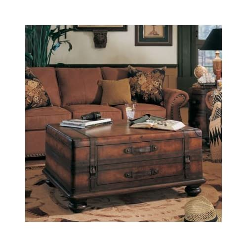 Amazon.com - Hooker Furniture 500-50-443 Seven Seas Map Storage Trunk