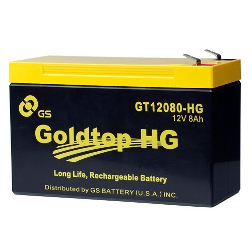 Genuine Fios Replacement Battery By Gs Battery - Gt12080-Hg - Premium Replacement For Px12072