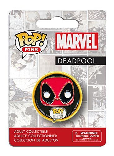Funko - Pins Marvel - Deadpool Pop 3cm - 0849803072803
