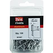 Do it Best Global Sourcing381667Do it Best POP Rivets-1/8X1/8 ALUM RIVET