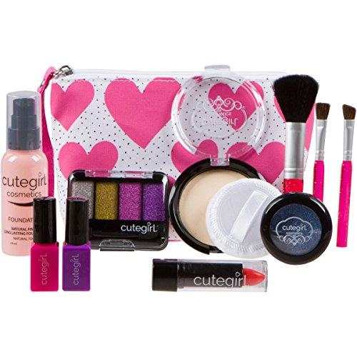Cutegirl-Cosmetics-Pretend-Play-Makeup-Kit-Designer-Girls-Hearts-Essential-Bag-Set