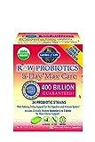 Garden of Life Organic Probiotic Supplement - Raw Probiotics 5 Day Max Care, 2.4oz (75g) Powder