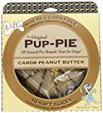 The Lazy Dog Cookie Co Inc The Original Carob Peanut Butter Pup-pie, 6-Ounce Boxes (Pack of 4)