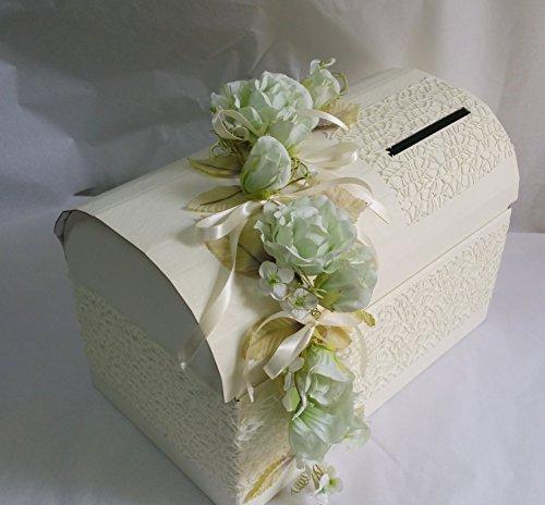 Buste Matrimonio Toscana : Baule scatola porta buste decorato matrimonio nozze colore