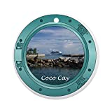 CafePress - Coco-Cay2 - Round Holiday Christmas Ornament