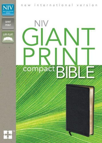 NIV Giant Print Compact Bible - Malaysia Online Bookstore