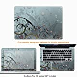 MATTE Protective Decal Skin Sticker (Matte Finish) for Macbook Pro 13 (release 2009) with 13.3 in screen case cover 2i_MAT- Mcbkpro13-607