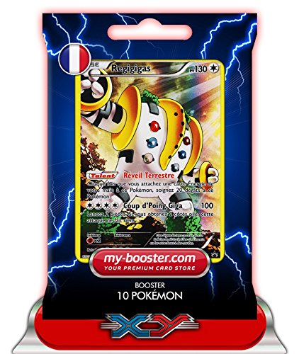 REGIGIGAS holo reverse Full Art XY82 130PV XY09 - Booster de 10 cartes Pokemon francaises my-booster