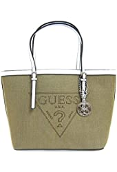GUESS Delaney Women's Tote Bag, Natural