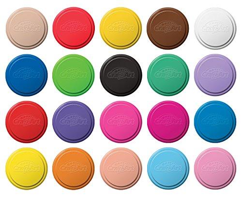 Cra-Z-Art Giant Color Craze 20 Dough Pack (Soft Play Dough compare prices)