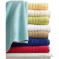 "Martha Stewart Collection CORAL PINK Quick Dry 27"" x 52"" Bath Towel"