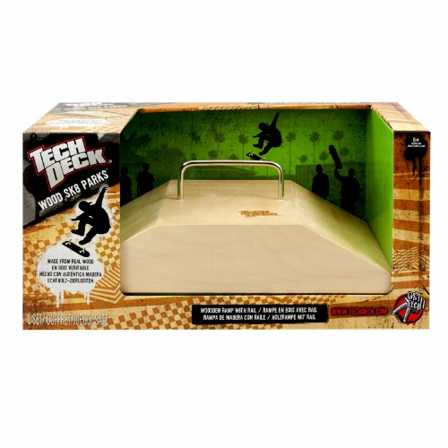 Details Of Tech Deck Wood Ramps - Fun Box Rail