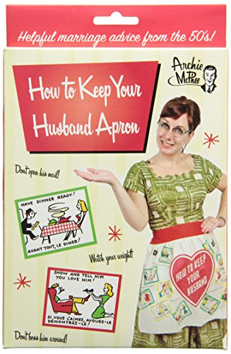 Accoutrements How to Keep Your Husband Apron - 1