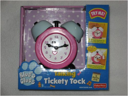 Blue's Clue Talking Tickety Tock Clock - 1