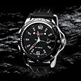 New JULIUS® Exquisite Calendar Man Watch, Gift Idea - All Blackby JULIUS