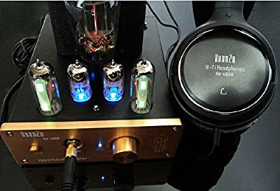 Nobsound Class A USB Decorder DAC Preamp Tube Headphone Amplifier 110v For US