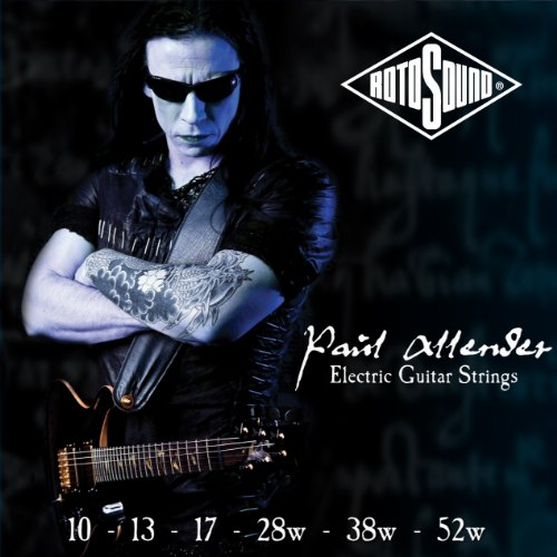 Rotosound Pa10 Nickel Plated Paul Allender Electric Guitar Strings, Custom