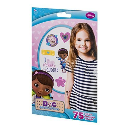 Disney Doc McStuffins Tattoos - 75 CT - 1