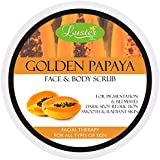 Luster Golden Papaya Face & Body Cream Scrub, 400g
