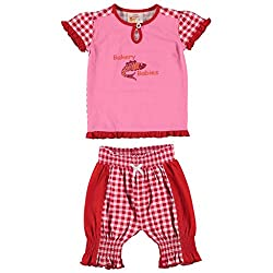 The Dutch Design Bakery Kid's Red Color Skirt