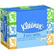 Kimberly-Clark Corp. 25854 Kleenex 3-Pack Facial Tissue Pack of 12