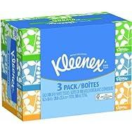 Kleenex 3-Pack Facial Tissue-100CT 3PK KLN FAC TISSUE