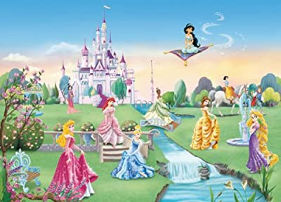 Princess Castle Photo Wallpaper Wall Mural from WallStickerWarehouse