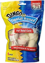 Dingo Dental Bones, Small, 6-Count