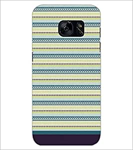 PrintDhaba Pattern D-1715 Back Case Cover for SAMSUNG GALAXY S7 (Multi-Coloured)