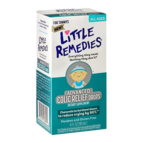 Little Remedies Advanced Colic Relief Drops, 4 Fluid Ounce (Advanced Relief compare prices)