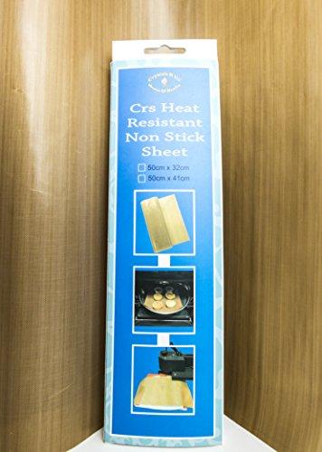 X large reusable teflon cooking sheet non stick no mess for Non stick craft sheet large