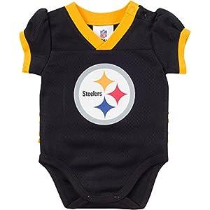 Gerber Pittsburgh Steelers Baby Girl Dazzle Body Suit at SteelerMania