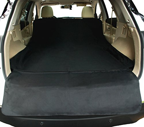 NAC&ZAC Waterproof SUV Cargo Liner, Pet Seat Cover with Extra Bumper Flap, Machine Washable Dog Cargo Cover (Cargo Liners For Dogs compare prices)