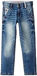 US Polo Association Boys' Jeans (UKJN5197_Medium Blue_ES)
