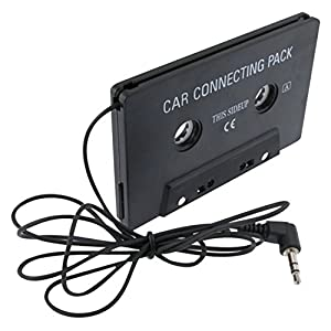 eForCity Car Audio Cassette Adapter for iPod touch 5G (Black)
