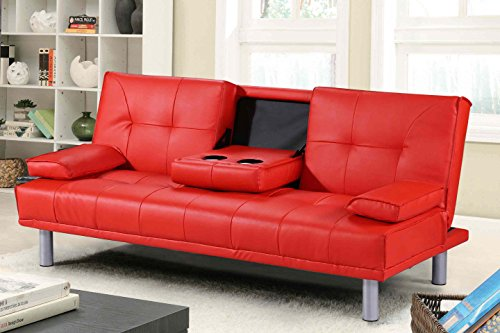 new-sleep-design-manhattan-modern-faux-leather-sofa-bed-with-drinks-table-cushions-available-in-red